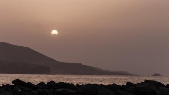 Eclipse_Playa las Canteras_Las Palmas de Gran Canaria