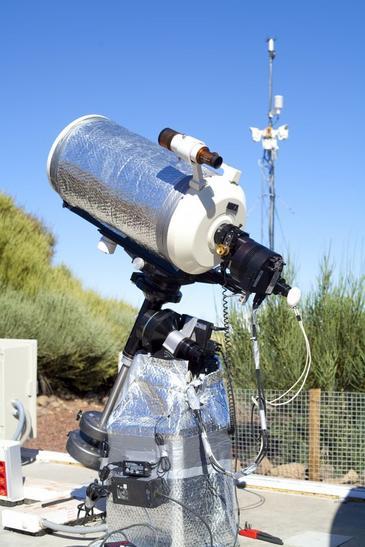 Telescopio TAD en Tenerife.  Fuente: IAC