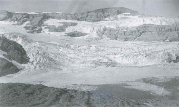 <p>Glaciar de Monte Perdido (Aragón) en 2011. / UB/Marc Oliva</p>