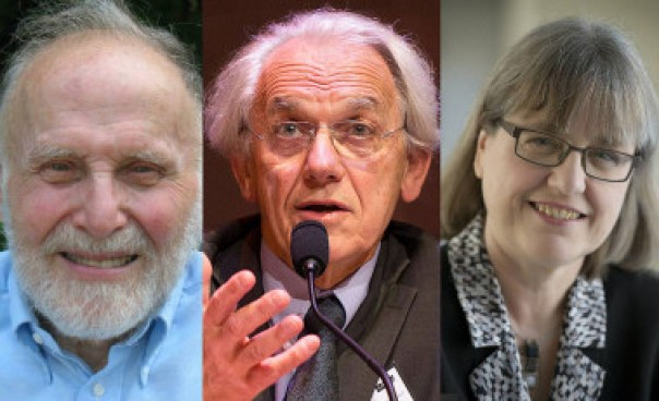<p>El Nobel de Física 2018 lo comparten el estadounidense Arthur Ashkin (1/2 del premio), el francés Gérard Mourou (1/4) y la canadiense Donna Strickland (1/4) por sus revolucionarios avances en la física del láser. / Bell Labs/École Polytechnique/University of Waterloo</p>