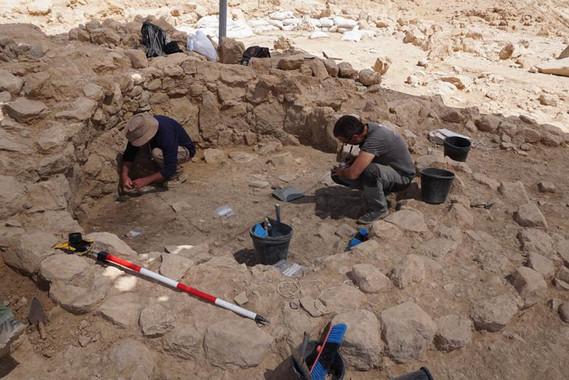 <p>Excavación en Nahal Efe, Israel, una de las fuentes de datos para ArchaeoGLOBE / Nahal Efe Project</p>