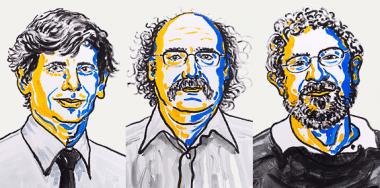 <p>Los científicos David Thouless, Duncan Haldane y Michael Kosterlitz son los galardonados con el Premio Nobel de Física 2016. / Nobelprize.org</p>
