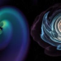 Fusión de dos estrellas de neutrones