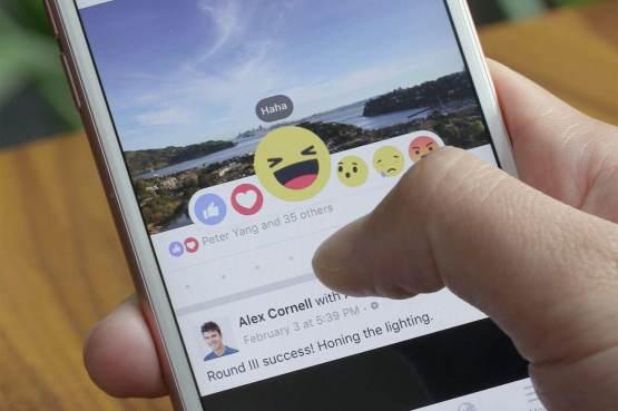 Interação no Facebook