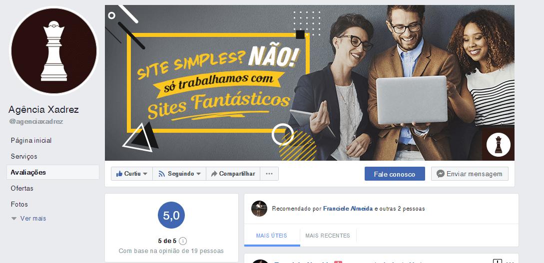 Agência xadrez no Facebook