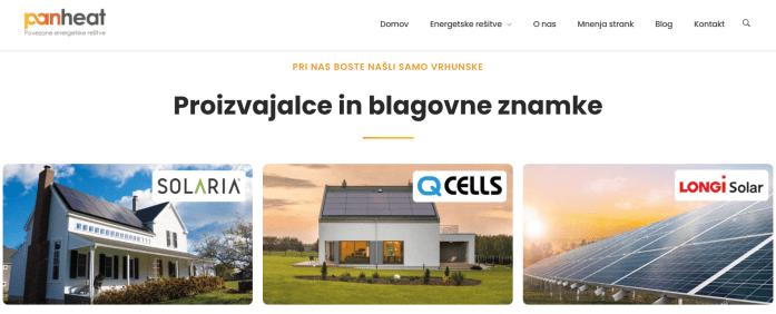 Spletni marketing - sončna elektrarna