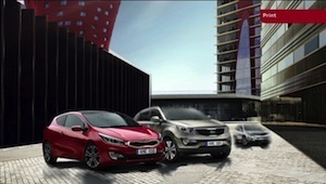 Kia Ad-Launch