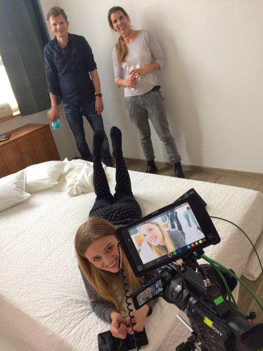 Filmproduktion mit Anke