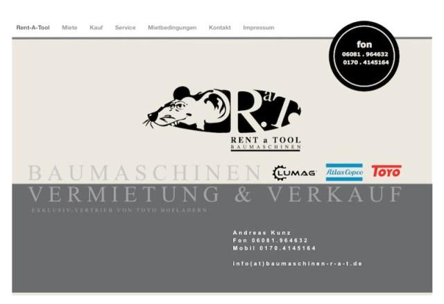 Webdesign für RAT