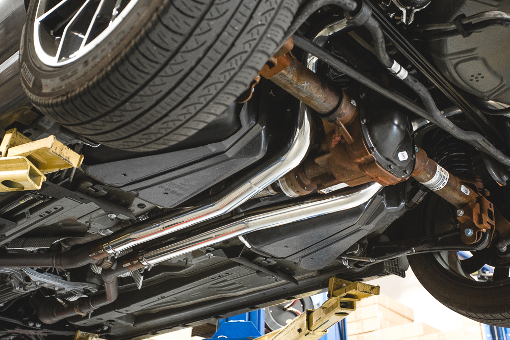 2014 ford mustang agency power catback exhaust agency power