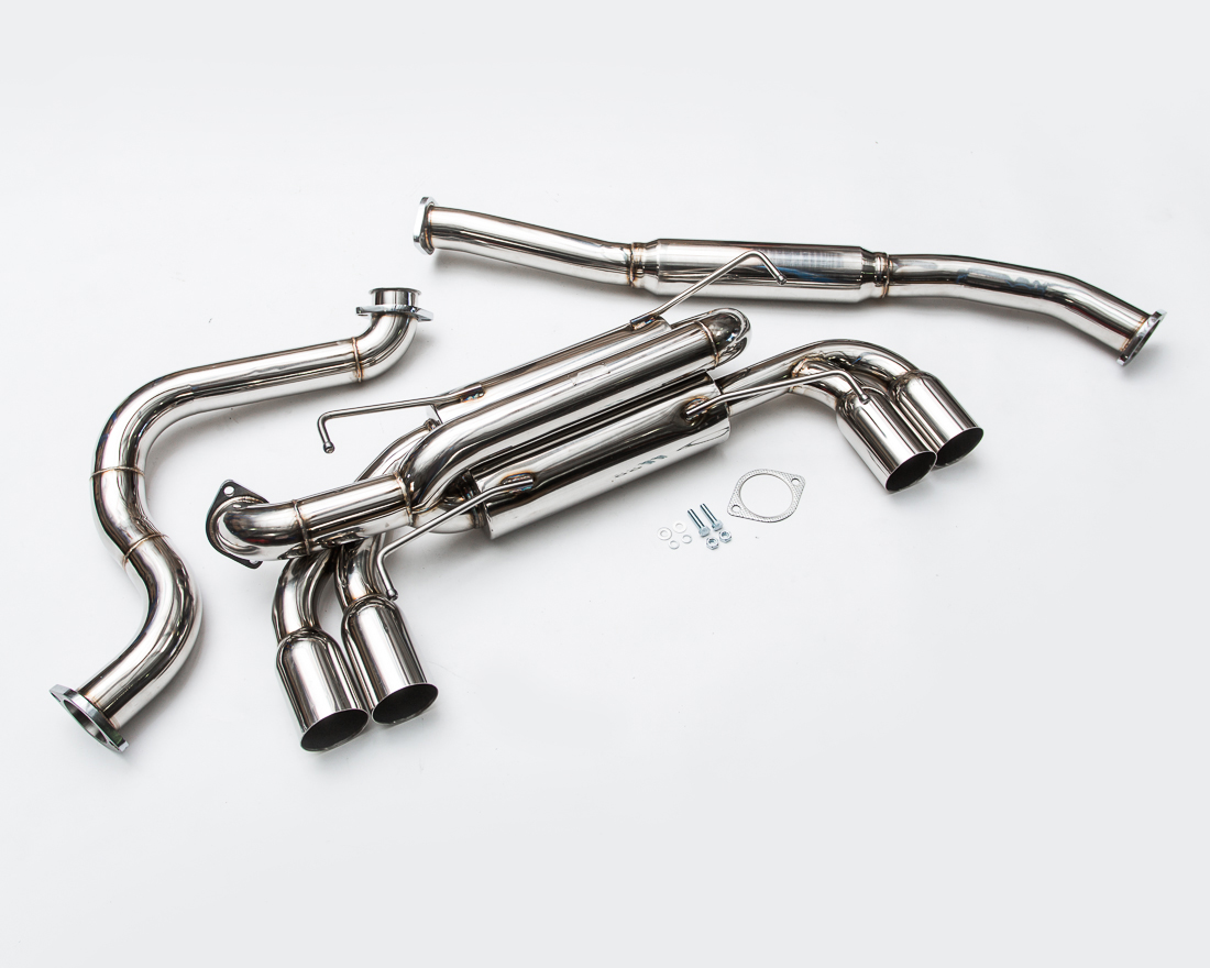 Agency Power Catback Exhaust System Stainless Tips Subaru