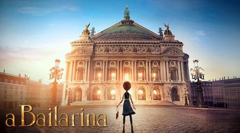 Animação A Bailarina estreia em janeiro de 2017