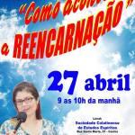 """Palestra """"Como acontece a Reencarnação"""" com Anete Guimarães (on-line)"""