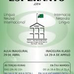 Curso de Esperanto na Unesp de São José do Rio Preto – SP