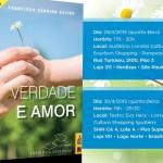 Lançamento de livro inédito de Chico Xavier na Livraria Cultura em São Paulo e Brasília