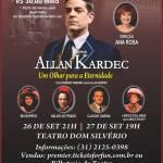 Espetáculo teatral Allan Kardec – Um olhar para a eternidade em Belo Horizonte