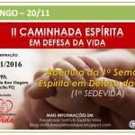II Caminhada Espírita em Defesa da Vida – Recife – PE