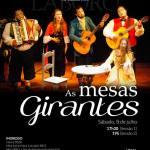 """Peça teatral """"Mesas Girantes"""", FEDF, Brasília-DF"""