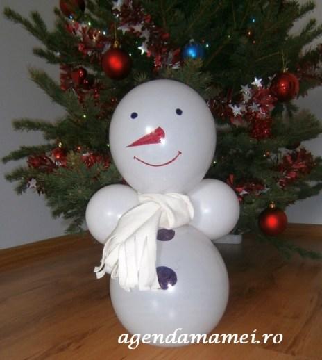 craft snowman_omulet de zapada