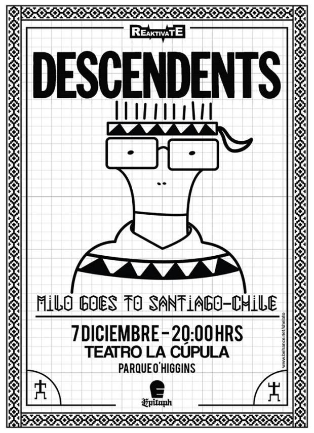 descendents-en-chile-flyer