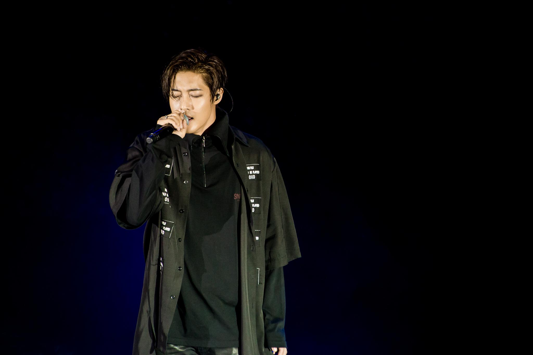 fotos de kim hyun joong en chile 20 de febrero