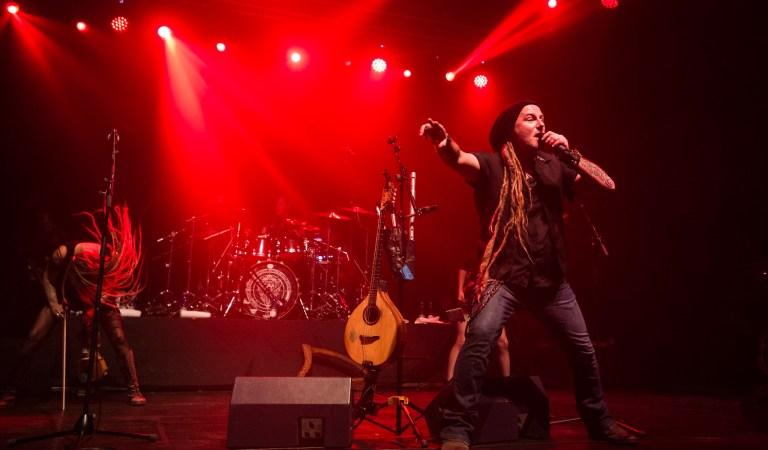 Fotos de Eluveitie en el Teatro Cariola: 14 de Febrero