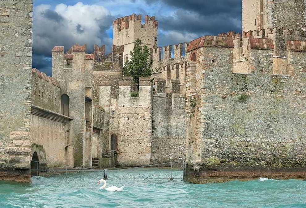 La Rocca Scaligera di Sirmione