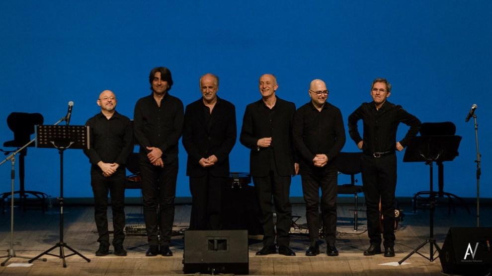 Toni e Peppe Servillo con i Solis String Quartet