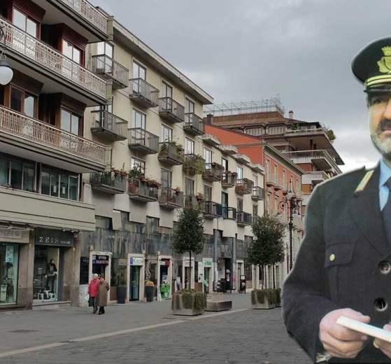 Il Vigile urbano di Avellino Luigi Tangredi