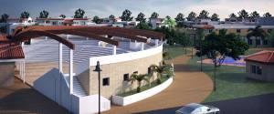 L'anfiteatro del Danaide resort a Scanzano Jonico