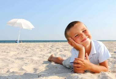 bambini spiaggia