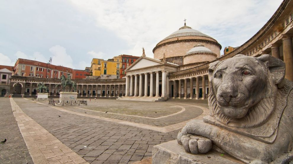 Napoli Piazza Plebiscito