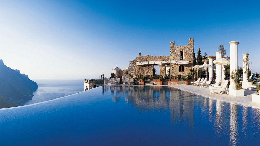 L 39 hotel caruso a ravello tra le 10 piscine pi belle del for Piscine 3 05 x 0 91
