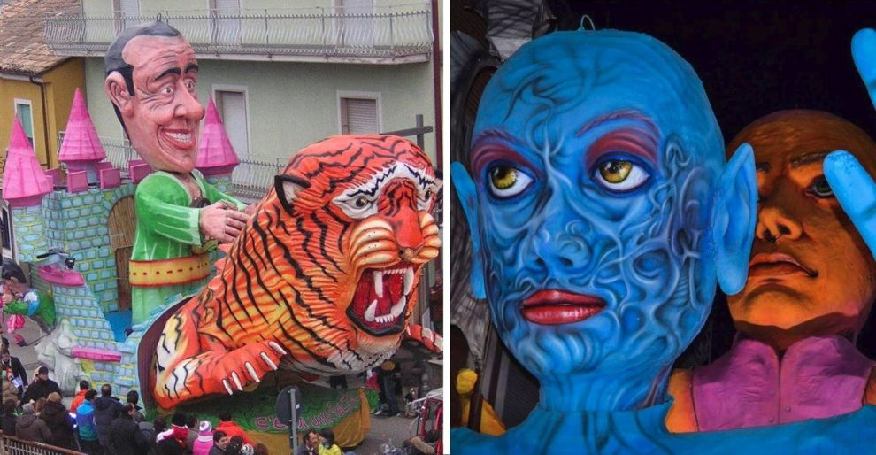 """Foto tratta dalla pagina Facebook """" Carnevale di Paternopoli."""""""