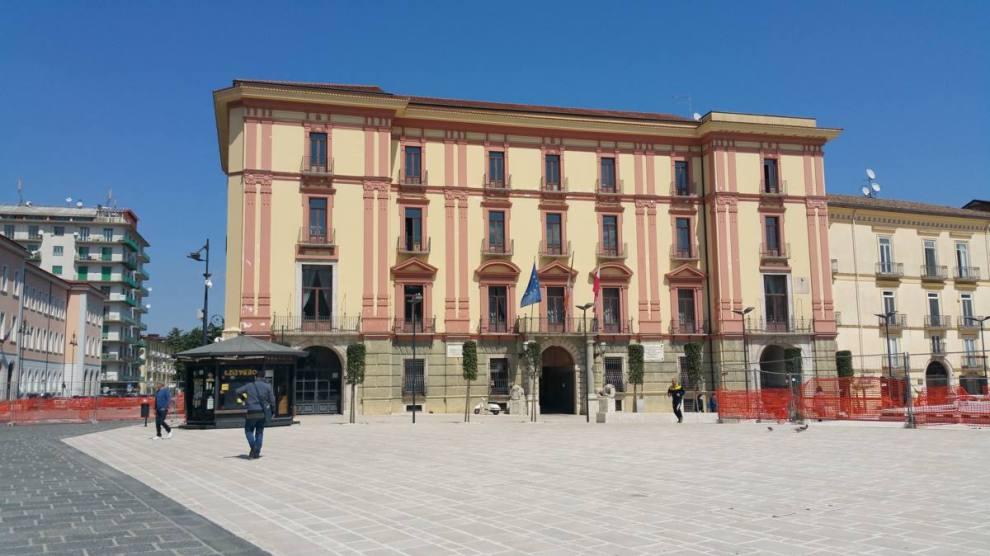La nuova piazza Libertà di Avellino