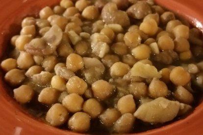La Rampe: zuppa di ceci