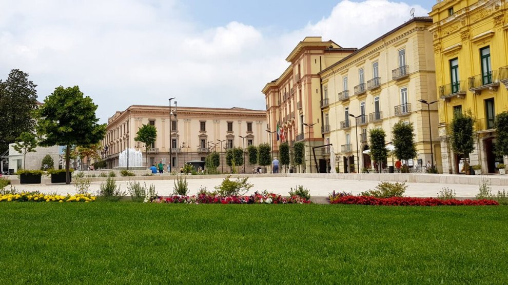 Piazza Libertà Avellino