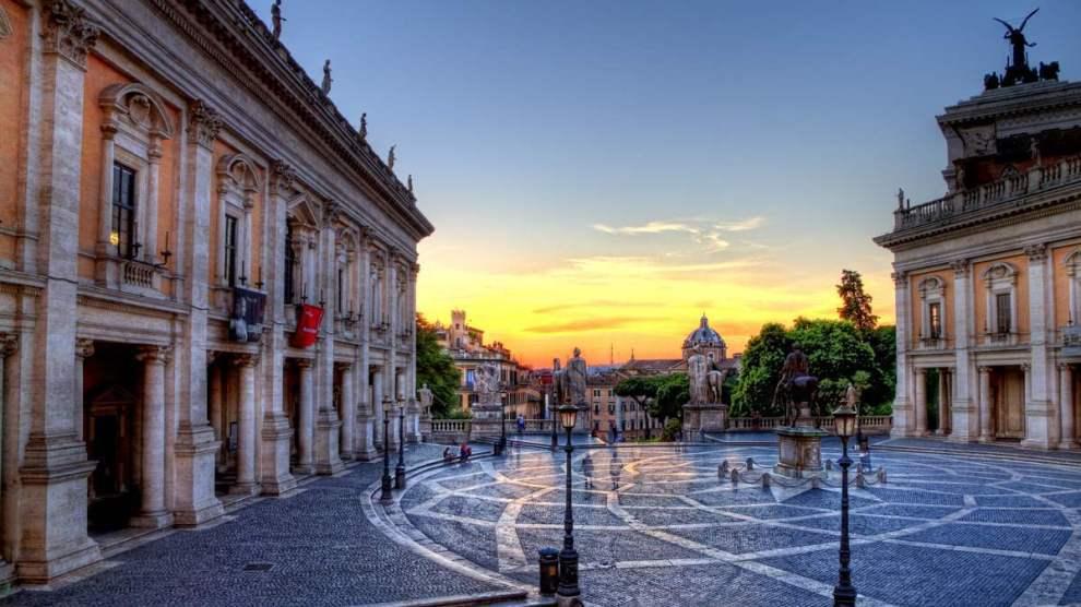 Roma campidoglio centro storico