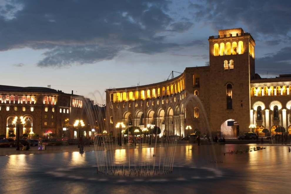 Yerevan in Armenia