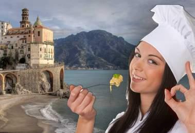 Scopri i piatti di mare e di terra ed i prodotti tipici della cucina salernitana con un viaggio nella gastronomia della provincia di Salerno.