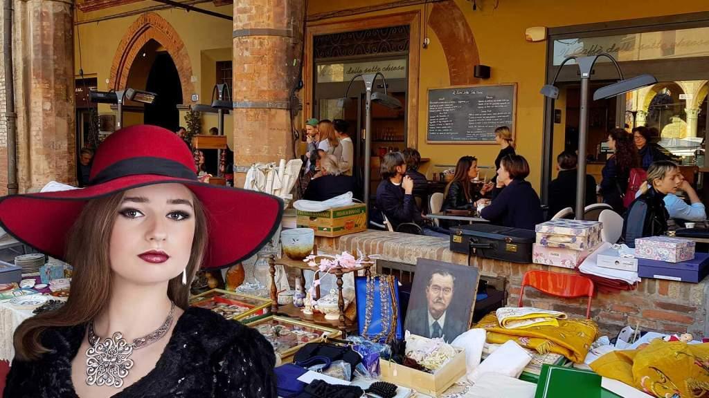 Le Date e il Calendario dei Mercatini dell'antiquariato,dell'usato,del modernariato e dell'artigianato nella regione Emilia Romagna.
