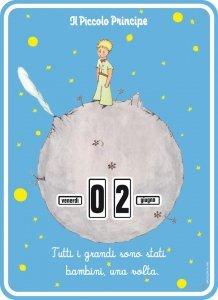 Il Piccolo Principe - Calendario Perpetuo