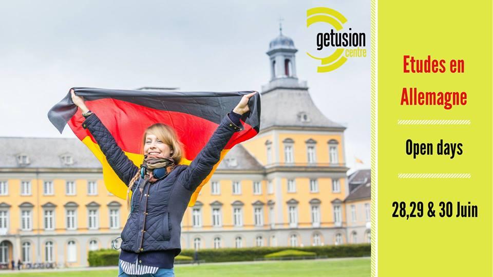 Études en Allemagne après le Bac, Open days Getusion