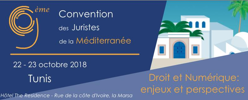 9ème Convention des Juristes de la méditerranéen