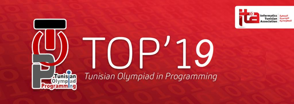 Tunisian Olympiad in Programming – TOP 2019