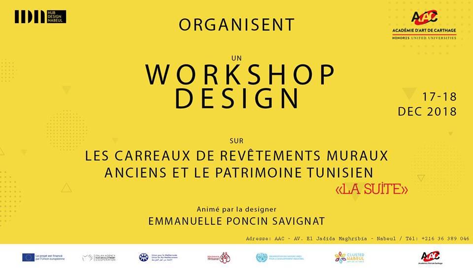 Workshop Design sur «les carreaux muraux anciens Tunisiens 2»