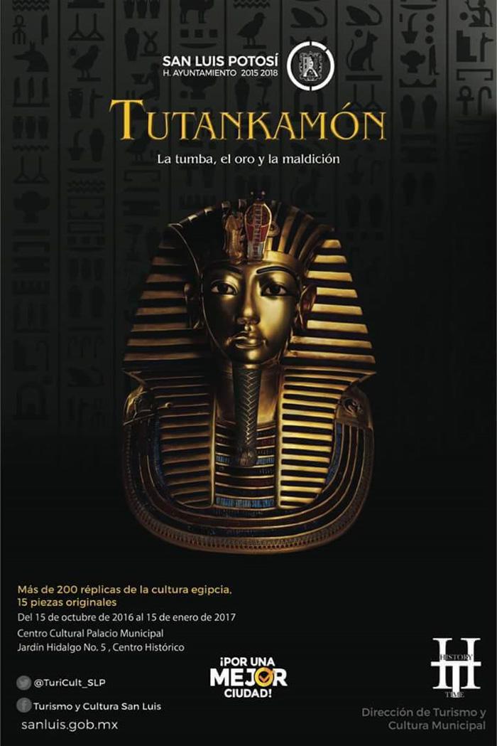 Exposición Tutankamón