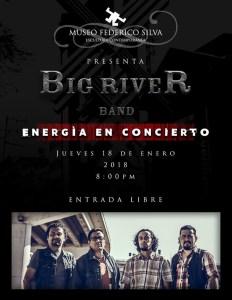 Big River Band - Energia en concierto @ Museo Federico Silva | San Luis Potosí | San Luis Potosí | México