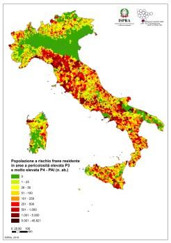 mappa rischio idrogeologico