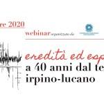40 anni terremoto irpino lucano